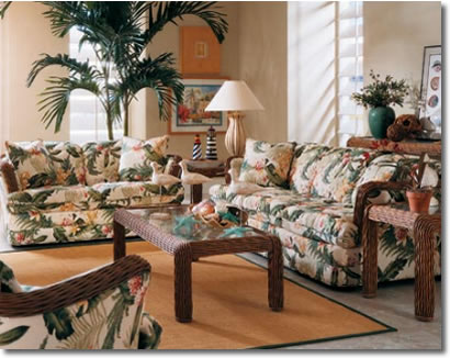 Livingroom Settings by W.F. Booth furniture and decorating